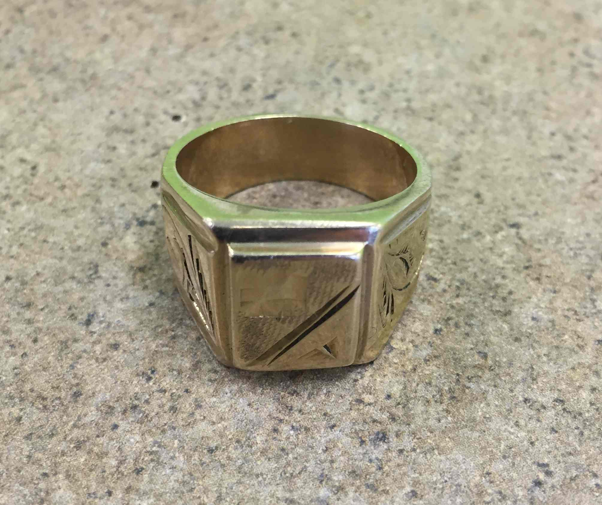 Fake Gold Ring