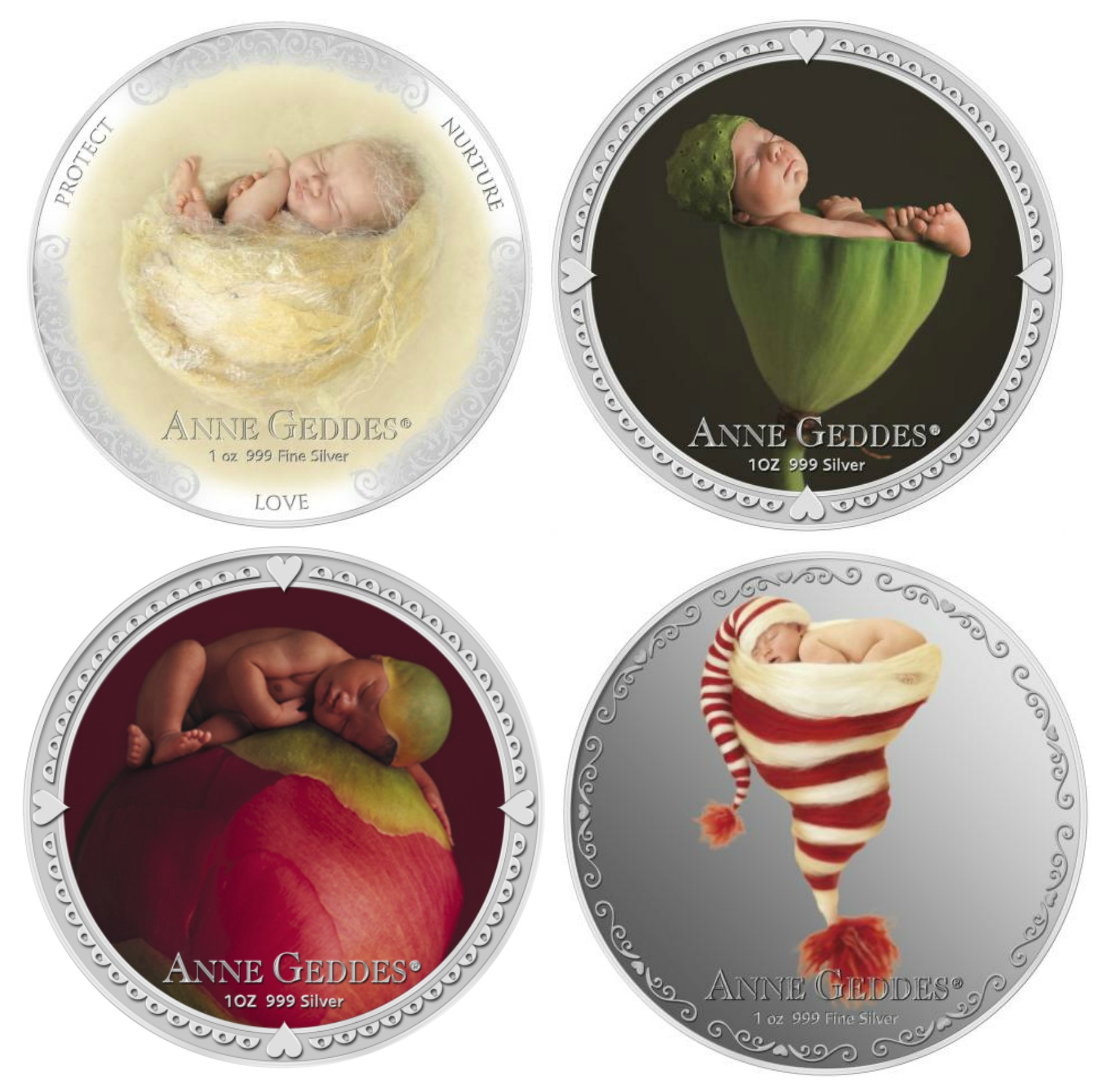 KMG Gold Recycling Anne Geddes NZ Mint Coins