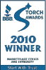 KMG Gold Recycling-2010 BBB Torch Award Winner