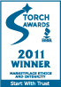 KMG Gold Recycling-2011 BBB Torch Award Winner